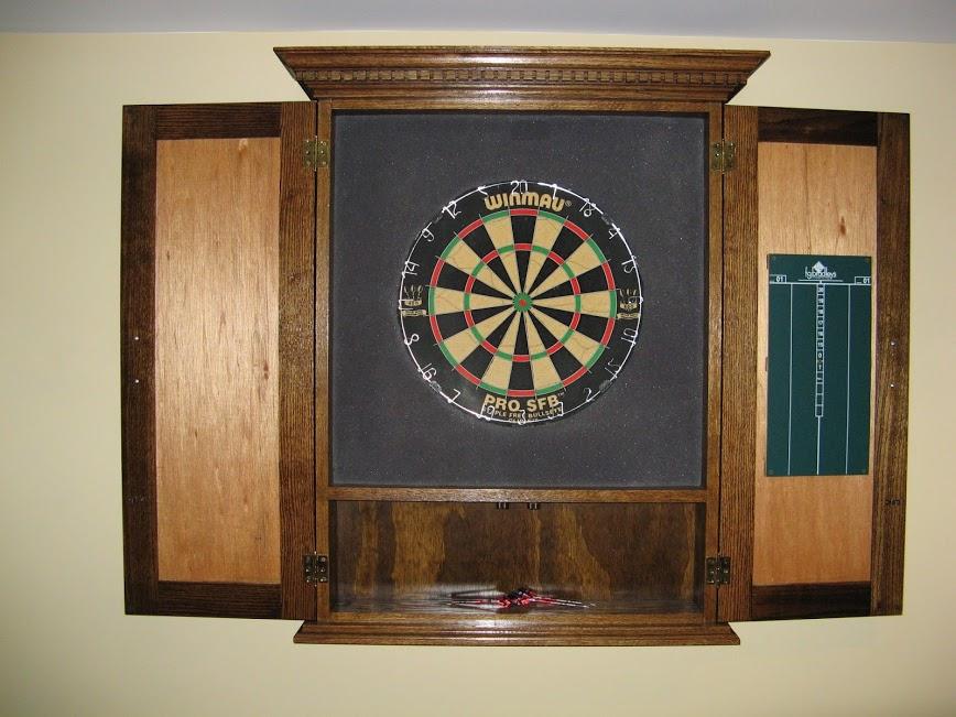 Custom Dart Board Steigerwald Amp Sons Furniture